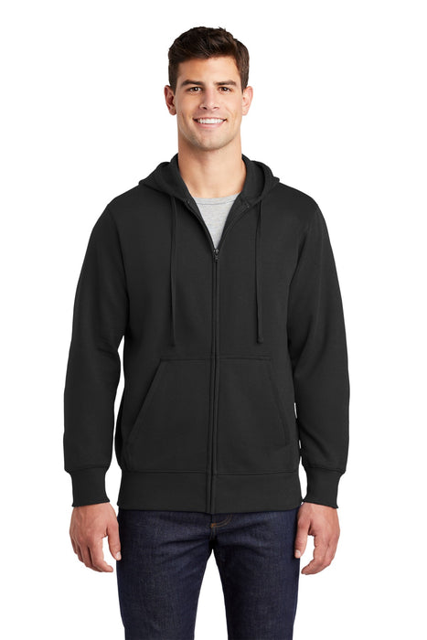 Sport-Tek® Full-Zip Hooded Sweatshirt. ST258
