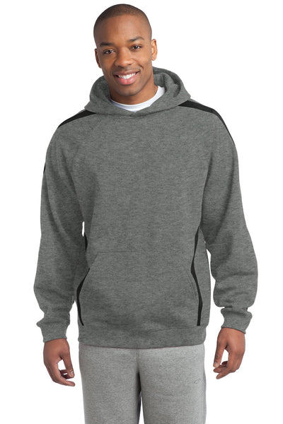 Sport-Tek® Sleeve Stripe Pullover Hooded Sweatshirt. ST265