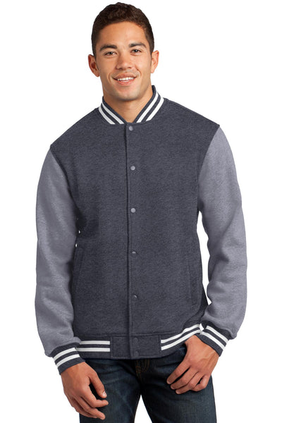Sport-Tek® Fleece Letterman Jacket. ST270