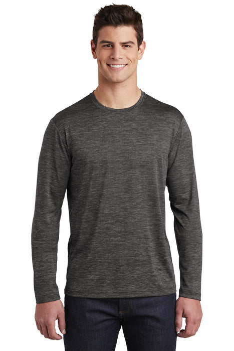 Sport-Tek ® PosiCharge ® Long Sleeve Electric Heather Tee. ST390LS