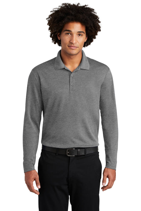 Sport-Tek ® PosiCharge ® RacerMesh ® Long Sleeve Polo. ST640LS