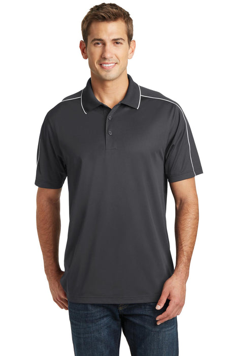 Sport-Tek® Micropique Sport-Wick® Piped Polo. ST653