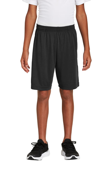 Sport-Tek ® Youth PosiCharge ® Competitor ™ Pocketed Short. YST355P