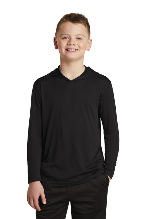 Sport-Tek ® Youth PosiCharge ® Competitor ™ Hooded Pullover. YST358