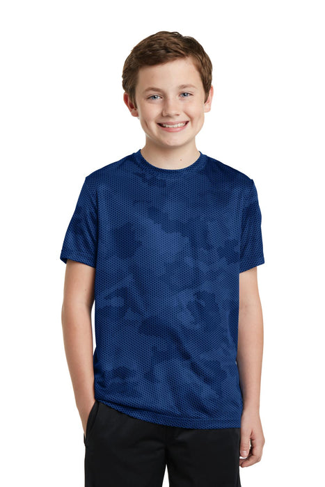 Sport-Tek® Youth CamoHex Tee. YST370