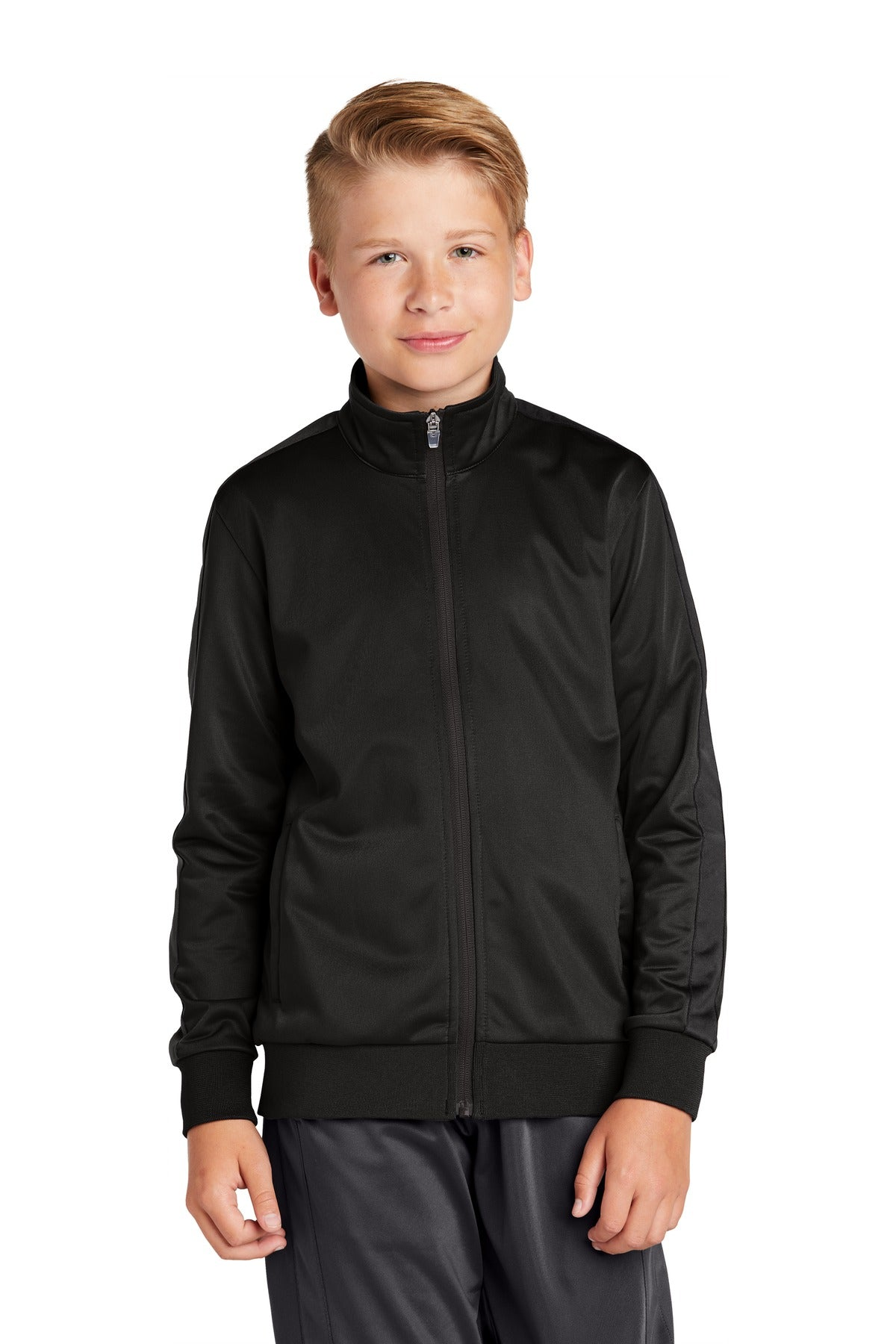 Sport-Tek ® Youth Tricot Track Jacket