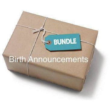 SVG Birth Announcements SVG Bundle - JPIBlanks.com