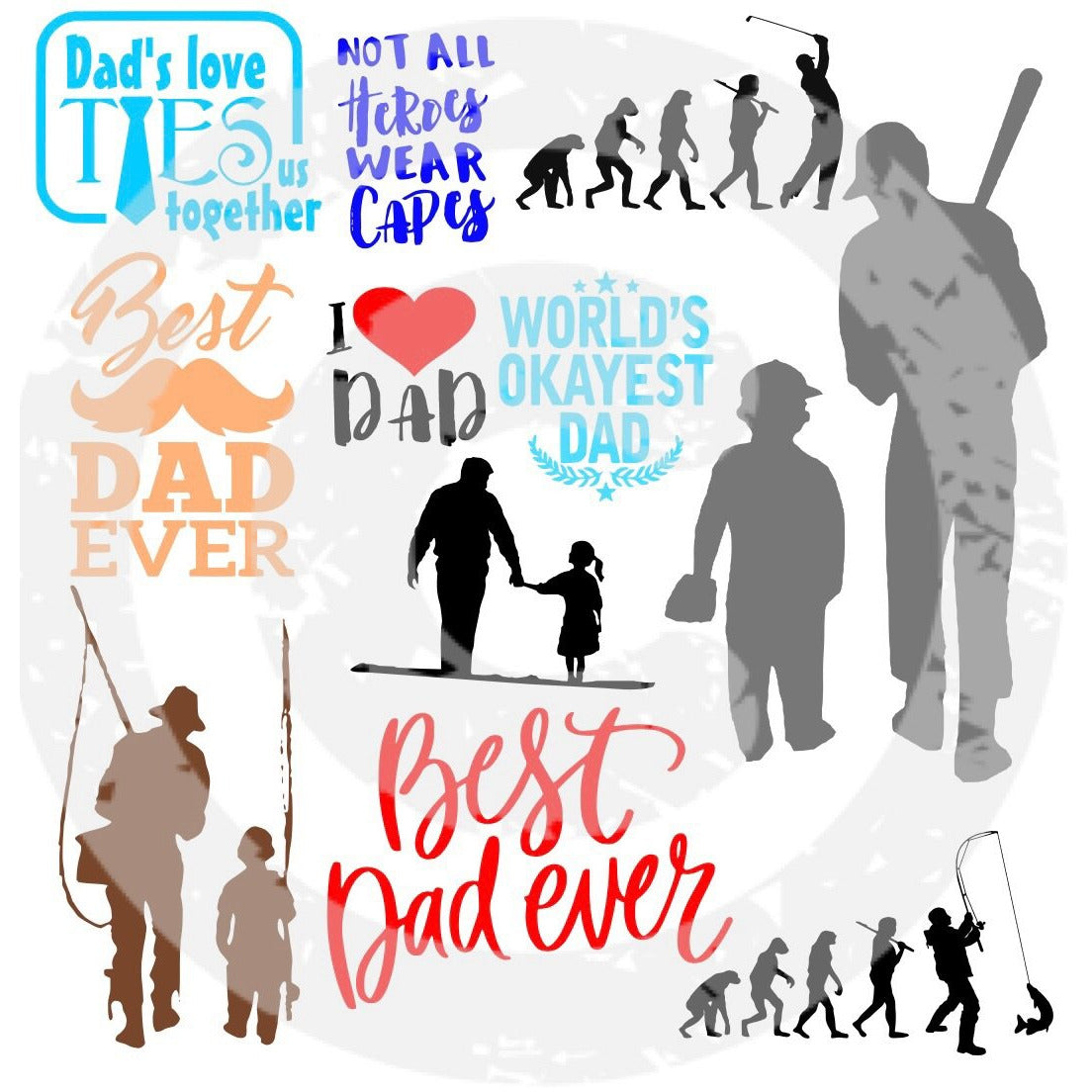 Father SVG Bundle - JPIBlanks.com