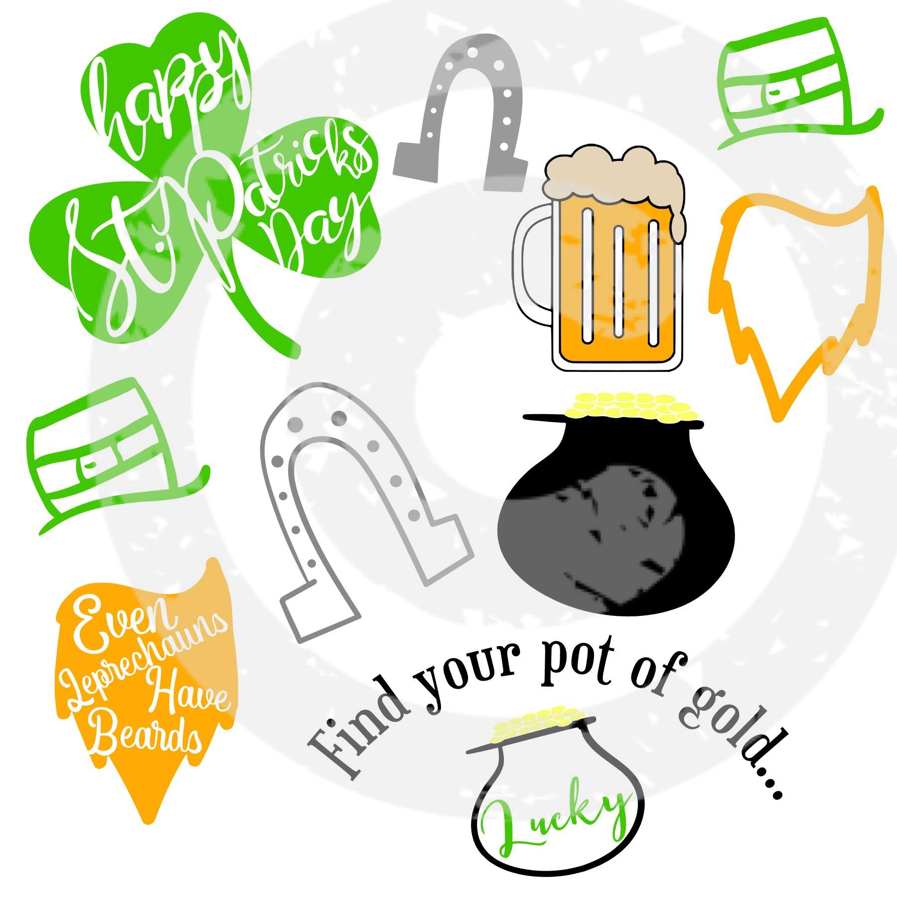 St. Patrick's Day SVG Bundle - JPIBlanks.com