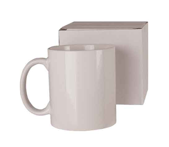 Sublimation White 11oz Coffee Mugs - JPI Blanks