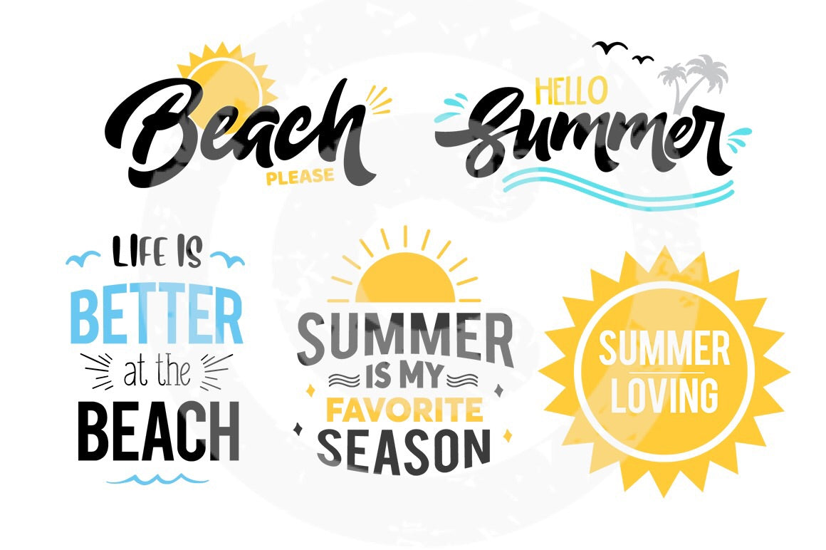 Summer SVG Bundle 1 - JPIBlanks.com