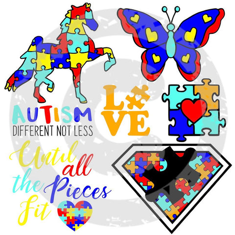 Autism Bundle SVG - JPIBlanks.com