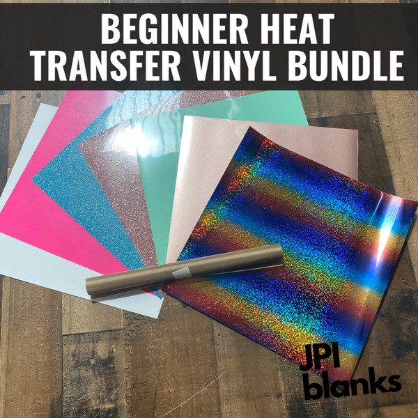 Beginner Heat Transfer Vinyl Bundle
