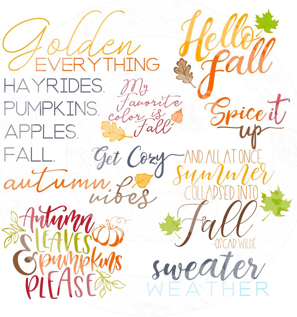 SVG Fall SVG Bundle - JPIBlanks.com