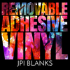 Removable Adhesive Vinyl Pack 23 - JPIBlanks.com