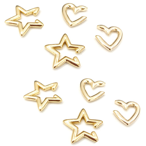 Star & Heart earcuff...