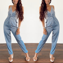 Load image into Gallery viewer, Lauren Satin Jumpsuit