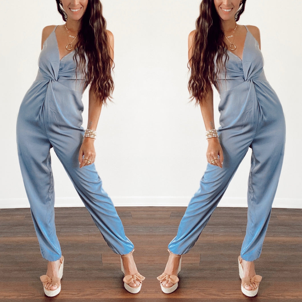 Lauren Satin Jumpsuit
