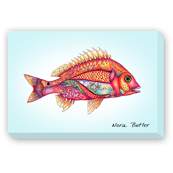 Giclees on Canvas - Fantasy Fish