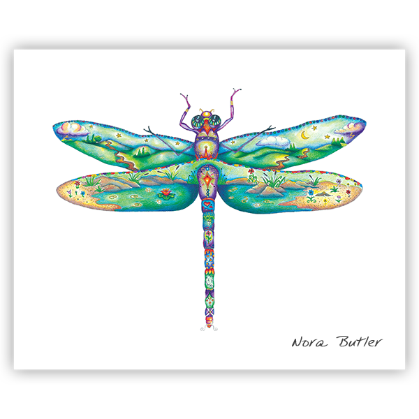 Damselfly II by Nora Butler