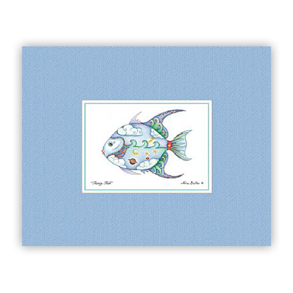 Fancy Fish Mini Prints