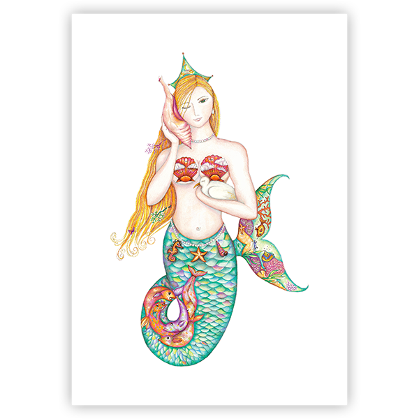 Mermaid Music Limited Edition Prints