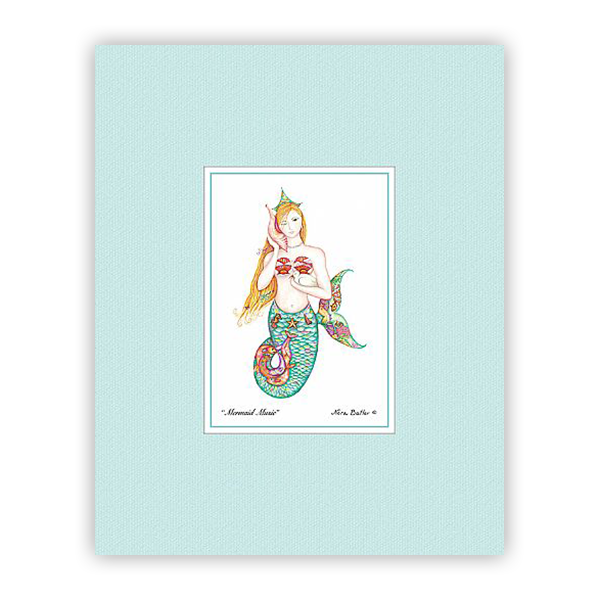Mermaid Music Mini-Print