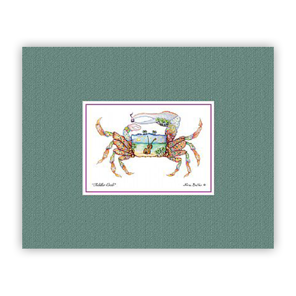Fiddler Crab Mini-prints by Nora Butler