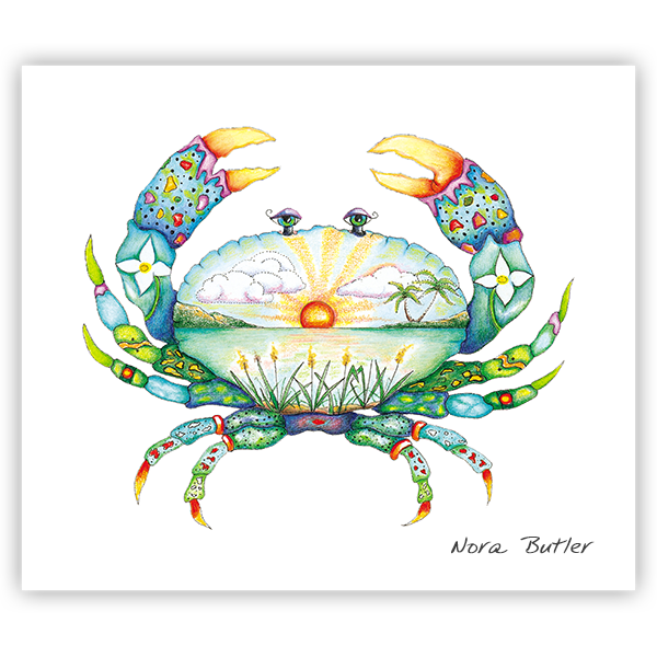 Tropical Crab Limited Edition Prints