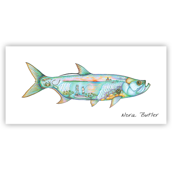 Tarpon Tribute by Nora Butler