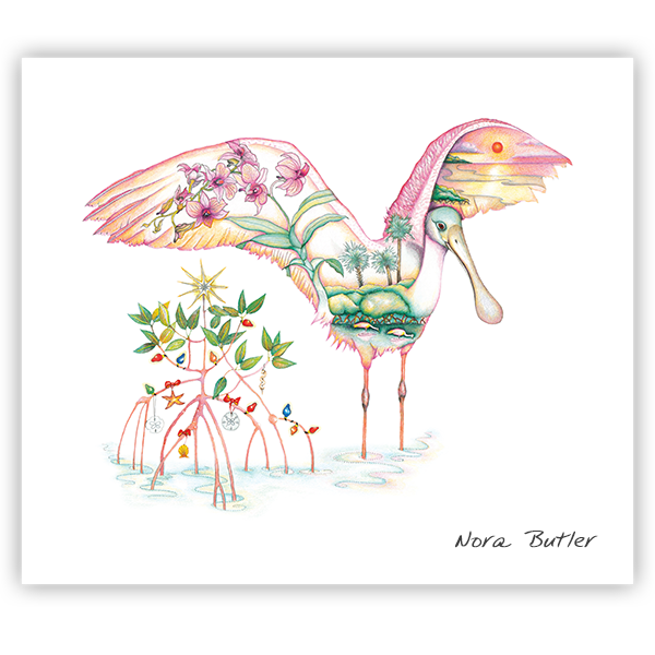 Spoonbill Splendor Limited Edition Print