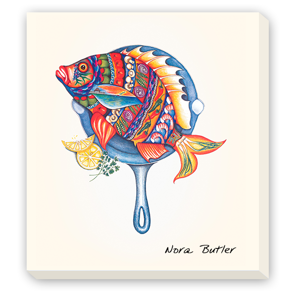 Giclees on Canvas - Fish Fry