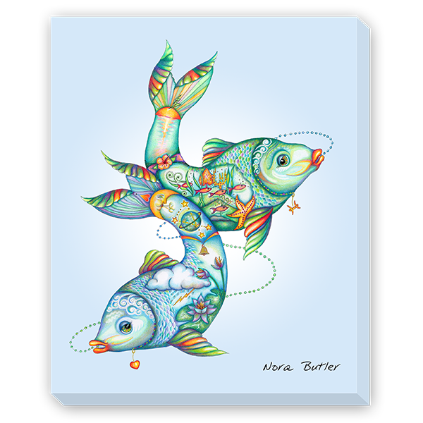 Pisces - First Design in Zodiac Series by Nora Butler
