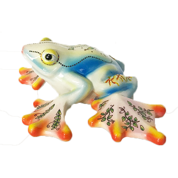 Tree Frog Figurine