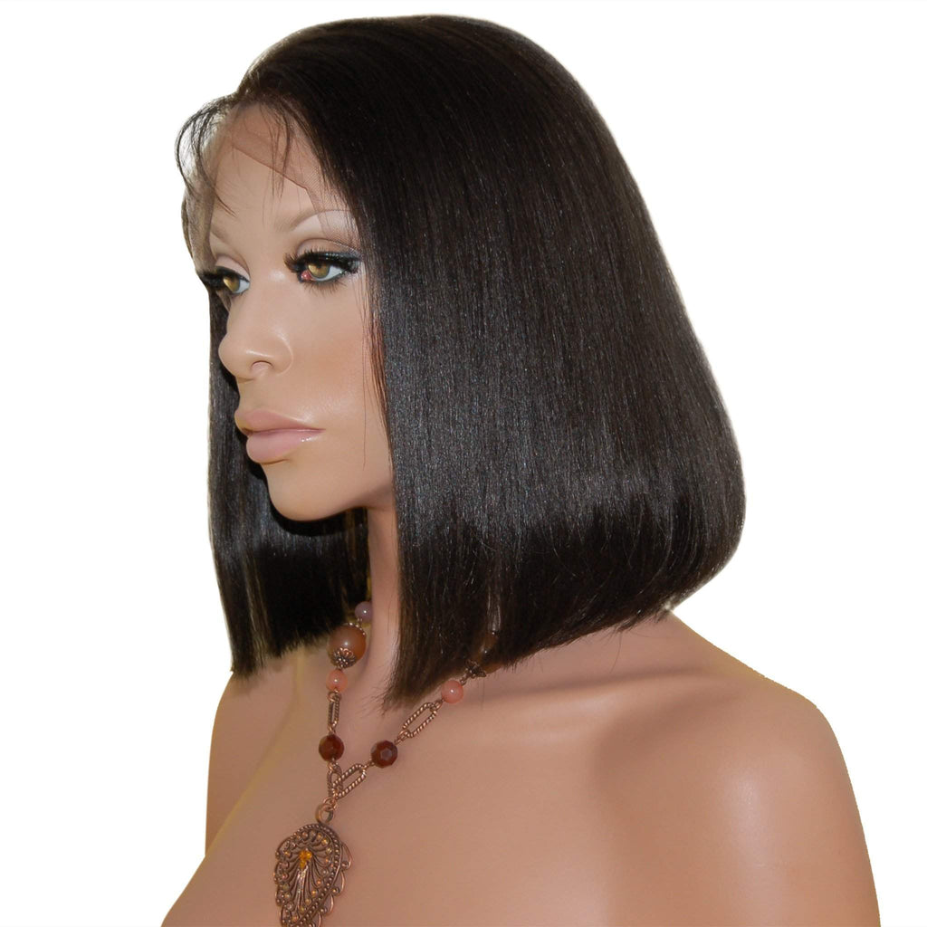 Anjene: Custom Bob Styled Human Hair Full