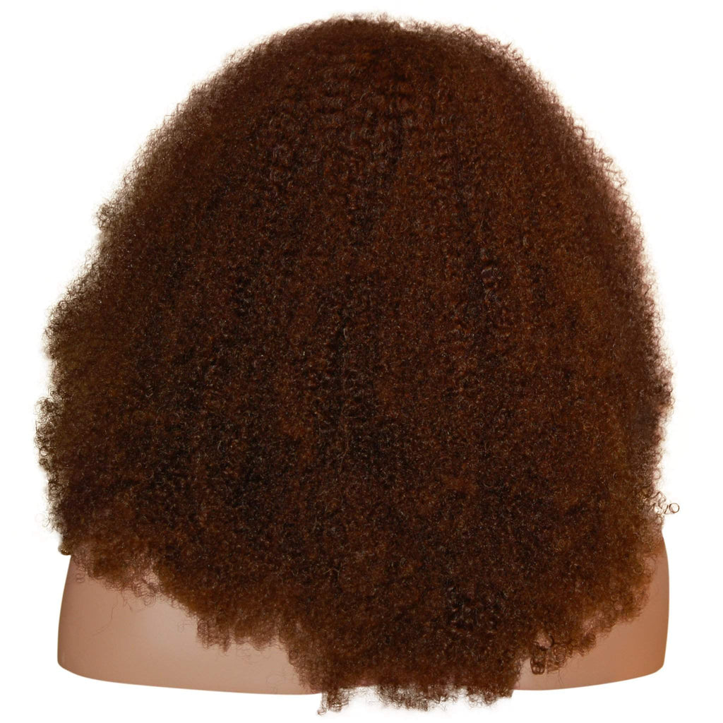 Asia: Custom Afro Kinky Curly Full Lace Wig - De Novo Hair