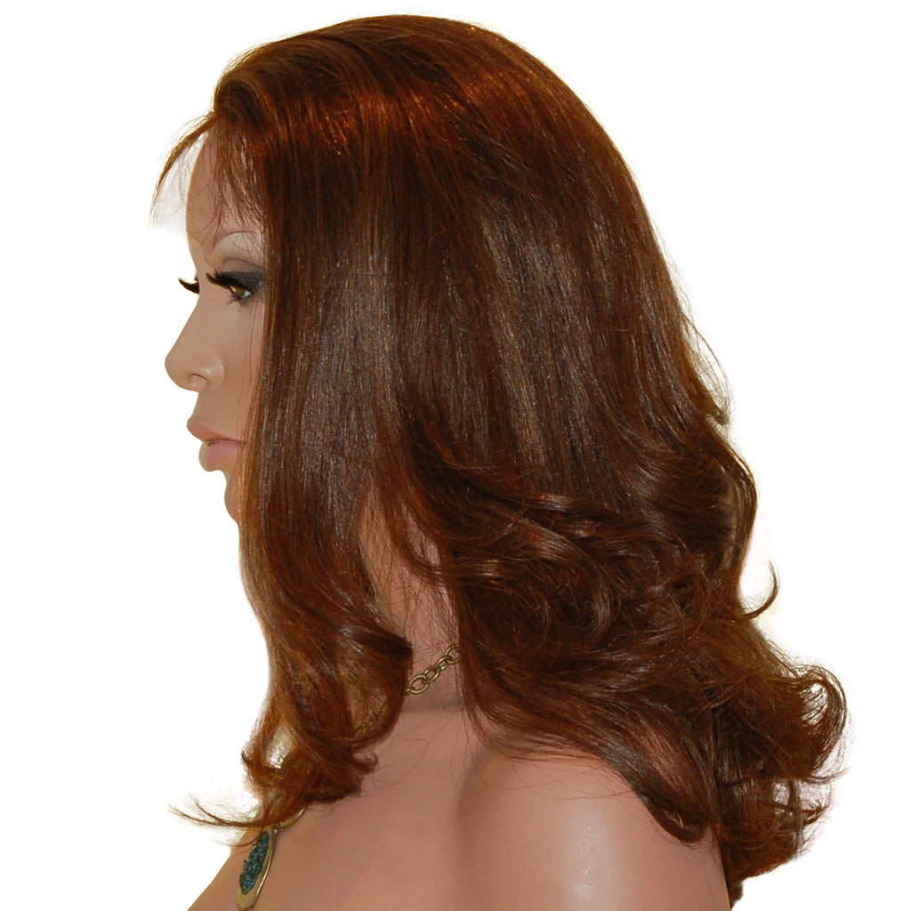 Claire: Custom Human Hair Full Lace Wig - De Novo Hair