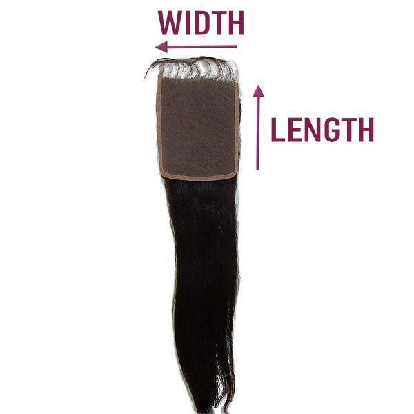 Human Hair Custom Lace Closures - De Novo Hair