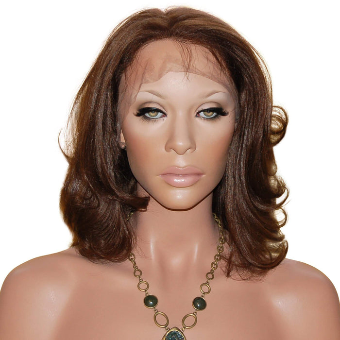 Demetria: Custom Human Hair Full Lace Wig - De Novo Hair