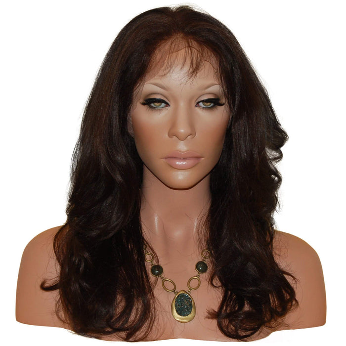 Hilary: Custom Human Hair Full Lace Wig - De Novo Hair