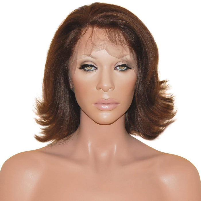 Ivana: Custom Human Hair Full Lace Wig - De Novo Hair