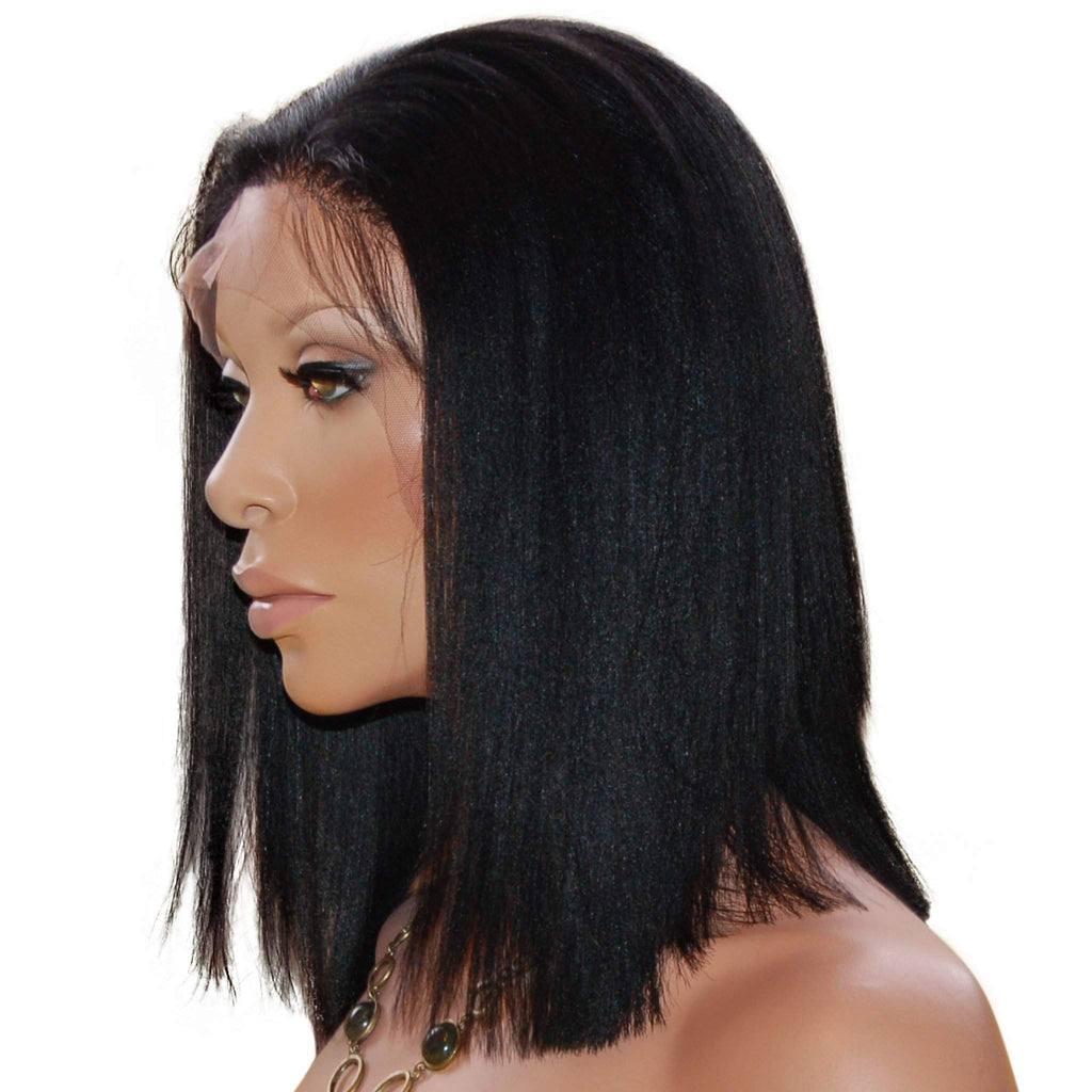 Jamela: Custom Human Hair Full Lace Wig - De Novo Hair