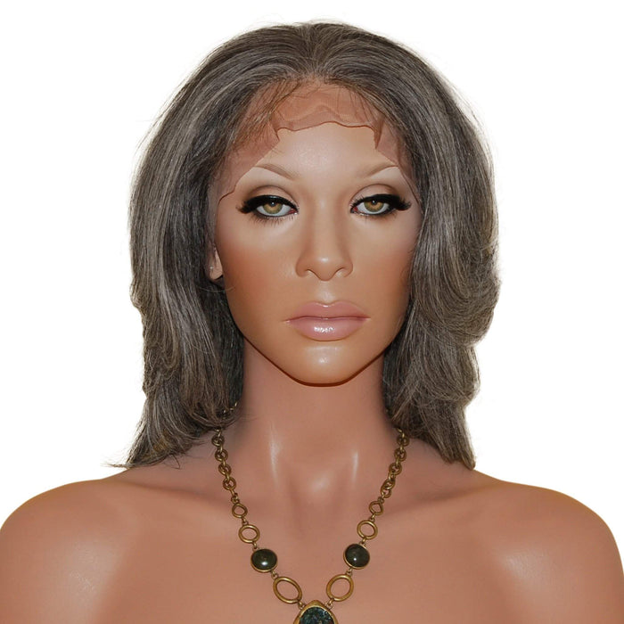 Johanna: Custom Human Hair Full Lace Wig - De Novo Hair