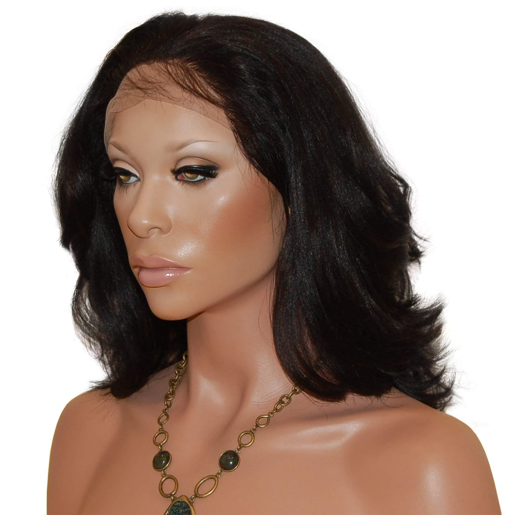 Kenyetta: Custom Human Hair Full Lace Wig - De Novo Hair