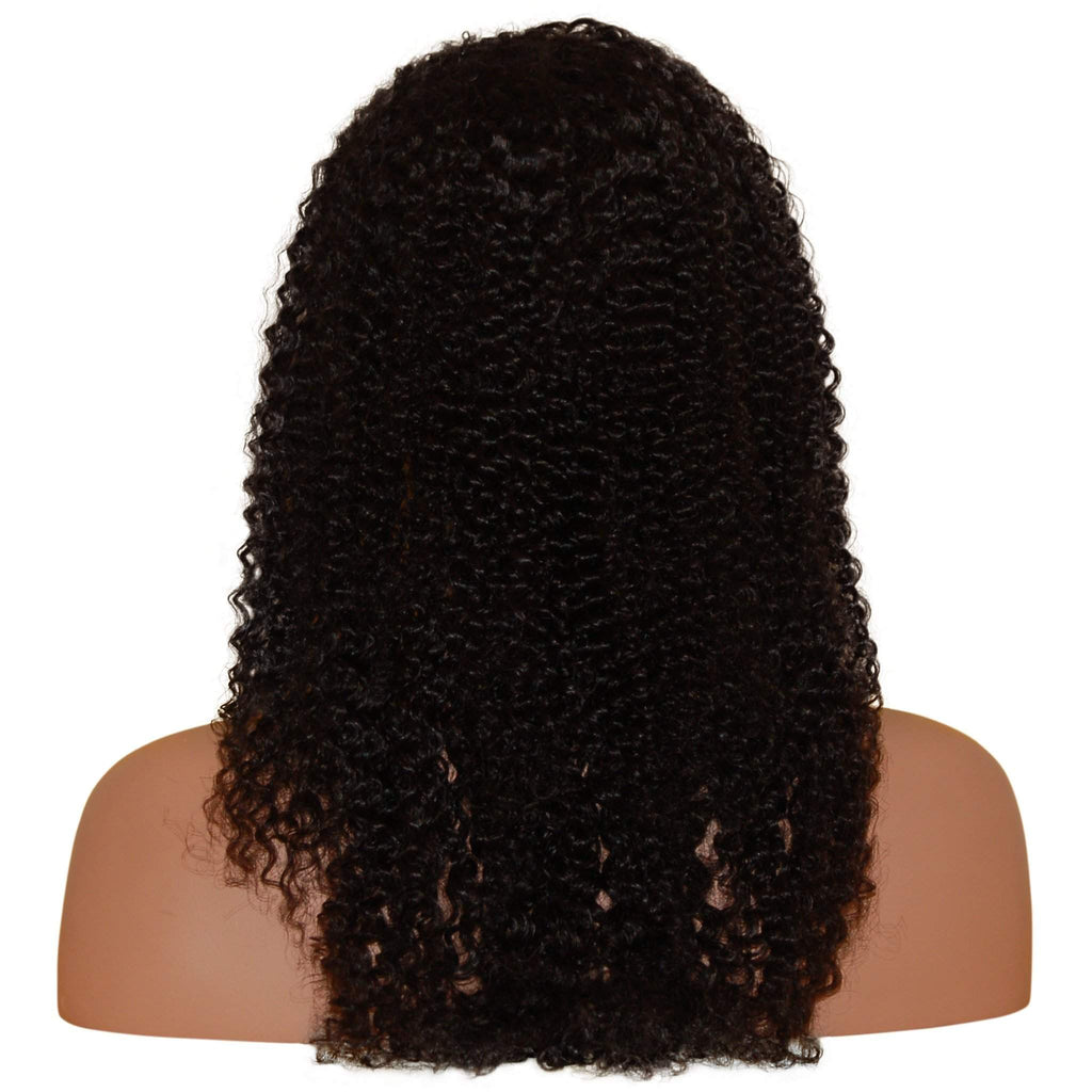 Konique: Custom Afro Curly Full Lace Wig - De Novo Hair