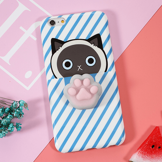 Squishy 3D Phone Case - 6 Animals