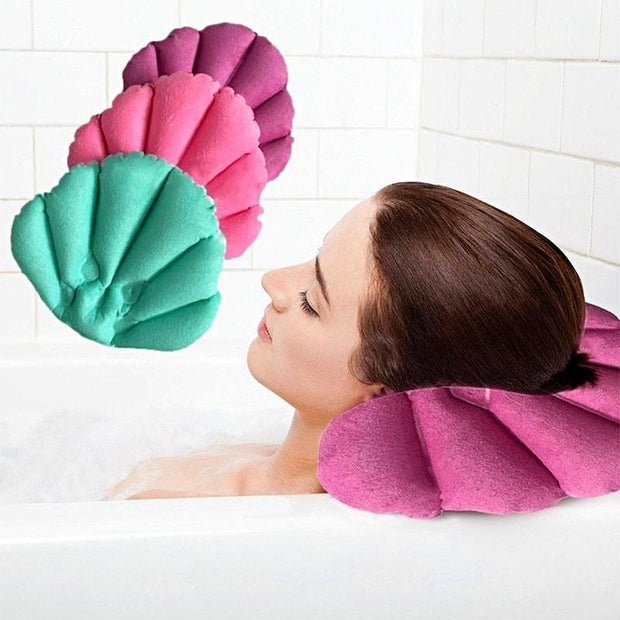 Relaxing Bath Pillow - Non Slip Waterproof