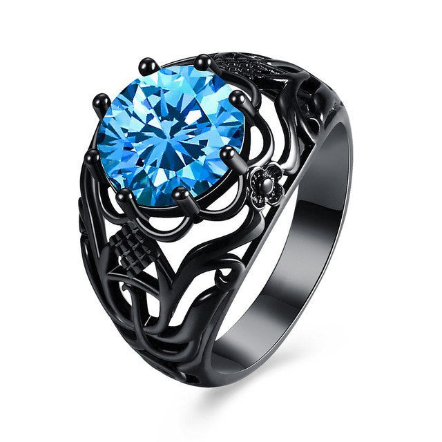 Magical Crystal Vintage Ring - 7 Colors