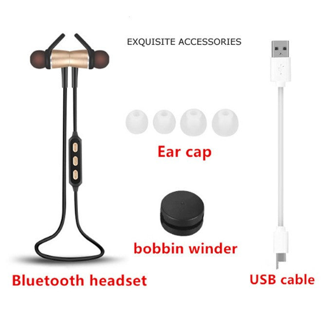 Metallic Wireless Earphones - IPX4 Waterproof