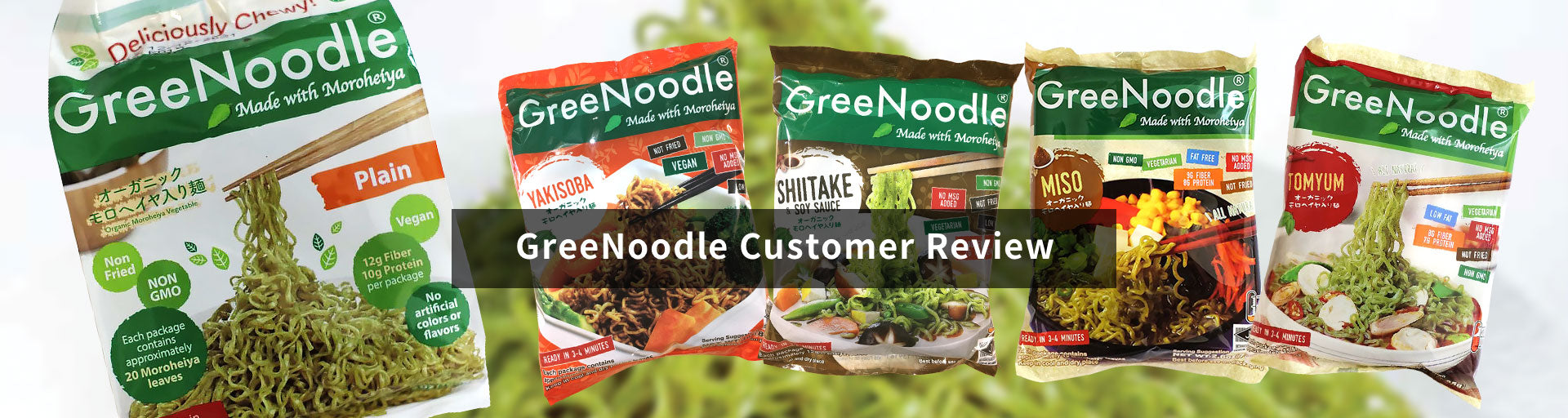 GreeNoodle Customer Review